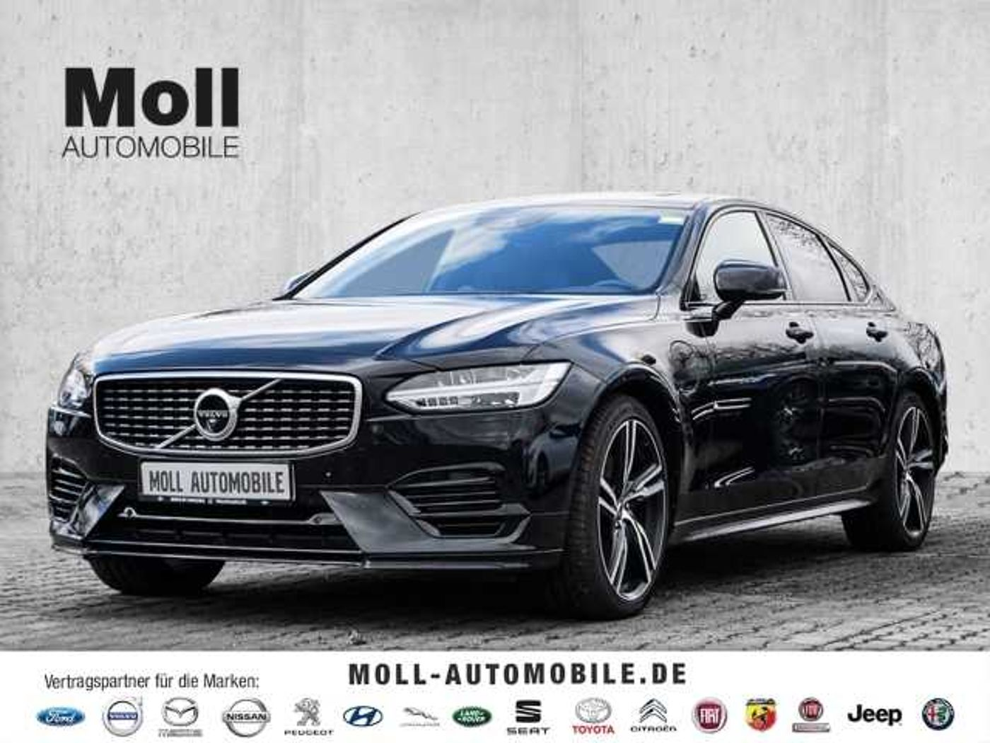 Volvo  R-Design Plug-In Hybrid AWD T8 Twin Engine EU6d-T Leder LED Navi AD Kurvenlicht